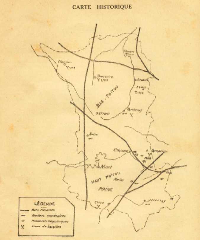 Carte du département
